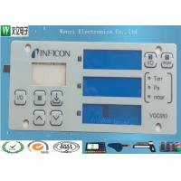 Buy cheap Multi Layer Circuit Polydome Switch Control Keypad Panel Four Display Window Easy Pull Strip product