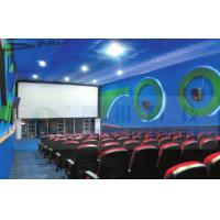 Buy cheap 4D Cinema Equipment Electric Pneumatic 3 Seat / 4 Seat Motion Chairs Leather product