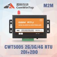 CWT5005B Industrial GSM RTU Controller SMS Alarm With 2Di 1 Relay Output