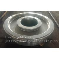 Buy cheap EN JIS ASTM AISI BS DIN Forged Wheel Blanks Parts Grinding Wheel Helical Ring Gear Wheel product