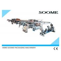 China Automatic Corrugated Cardboard Production Line Corrugated Box Making Machine Fast Delivery on sale