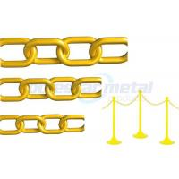 Buy cheap Safety colorful Decorative Plastic Chain Link  , 11mm Width Plastic Gear Chain product