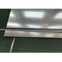 Buy cheap 1250mm Width Hot Dipped Galvanized Steel Sheet Big Spangle For Outer Walls product
