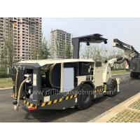 Quality Flexible Single Arm Drill Rig Machine Boring Trolley For Underground Mines / for sale