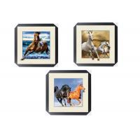 Buy cheap Office / Hotel Decoration Animal Picture 5d Lenticular Picture With Frame product