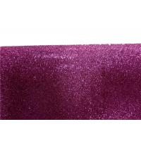 Buy cheap Wall Paper Sparkle Glitter Fabric , Diy Decoration PVC Glitter Fabric product