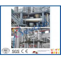 Buy cheap Full Auto / Semi Auto 15TPH Multiple Effect Evaporator For Pineapple Juice Concentrator product