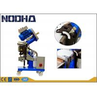 Buy cheap Cold Steel Plate Milling Machine , Plate Chamfering Machine 380V 3PH 50Hz product