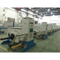 Active Pay Off Machine Multiple Drawing Bobbins For Copper Wire Bunching Machine
