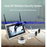 """Buy cheap 4CH 960P Wifi IP Cameras, Wifi NVR Kit, Wireless NVR with 11"""" HD LCD Display Screen product"""