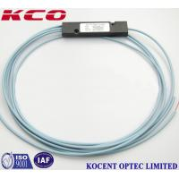 Buy cheap 1x2 Multimode OM3 Fiber Optic Cable Splitter , customized ABS Box PLC Splitter product