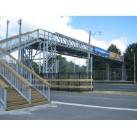 Bailey System Steel Truss Bridge Galvanized Surface Prefabricated Foot Bridge