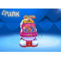 Buy cheap Cute Whale Plastic Material Coin Operated Game Machine / Kids Carnival Rides from wholesalers