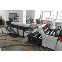 Buy cheap Light Weight Plastic Strip Making Machine , PP / HDPE Rope Maker Machine product
