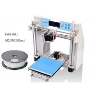 Buy cheap Cura Software Self Assembled 3D Printer Filament PLA 1.75mm SD Card product