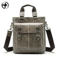 Buy cheap low MOQ office bag for men leather pure color leather bag for men Imported First Layer of cowhide hand bag men product