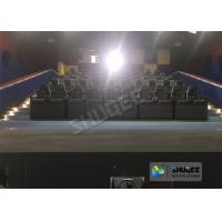 Quality SGS GMC Custom 5 D Cinema Synthetic Leather / 4D Theater Experience for sale