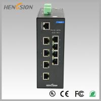Quality RJ45 8 port industrial gigabit ethernet switch , Fast switching speed switch for sale