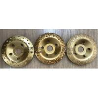 Buy cheap Fast 115mm Tungsten Carbide Abrasive Disc For Grinding Rubber And Fabric product