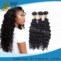 Buy cheap Natural Black Virgin Hair Extensions Kinky Curly , Malaysian Curly Hair Weave No Damage product