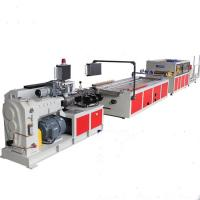 Buy cheap Wall Panel Production PVC Profile Extrusion Line / WPC Profile Extruder Making Machine product