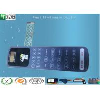 Buy cheap Nikto Backahesive Poly Dome Membrane Switch Keypad With ESD Shied Print product