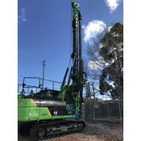 Buy cheap TYSIM KR90C Hydraulic Rotary Rig Foundation Piling Equipment With Friction Kelly Bar CAT318D Chassis from wholesalers