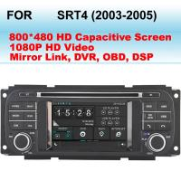 Buy cheap 2003 - 2005 SRT4 Dodge DVD Player In Dash GPS Navigation 3D Graphical User Interface product