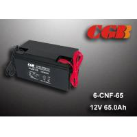 Buy cheap 65AH Valve Regulated Lead Acid Battery Rechargeable , Long Time Undercharge 12v Vrla Battery product