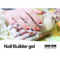 Buy cheap Painless Hard Gel Nails , Stronger UV Led Builder Gel to Extend Nails from wholesalers