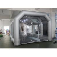 Buy cheap 8m Oxford Cloth Inflatable Spray Booth With 4 Filters For Car Washing / Painting product