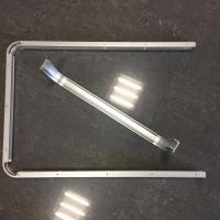 Buy cheap Custom Small Radius Aluminum Bending Profiles with Silver Anodized product