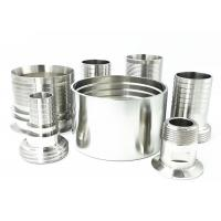 Buy cheap High Pressure Stainless Steel Hose Tails Connector  Inter Locking  BSP Threaded Pipe Socket product