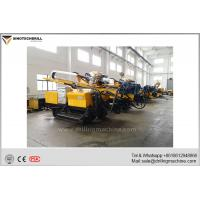 Buy cheap Hydraulic Drilling Rig / Crawler Mounted Drill Rig Hole Depth 130m product