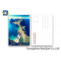 Buy cheap Scenery 3D Lenticular Postcards / 3 Dimensional Lenticular Greeting Card product