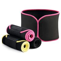 Buy cheap Unisex Adjustable Slimming Tummy Belt Waist Trimmer Band Sweat Belt product