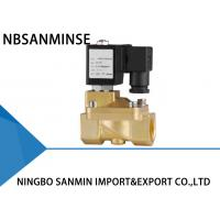 Buy cheap Custom PM 2 / 2 Way Brass Solenoid Valve , Latching Solenoid Valve For Gas product