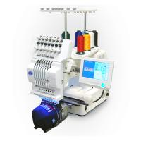 Buy cheap Commercial Single Head Computer Embroidery Machine For Cap / T - Shirt / Flat Embroidery product
