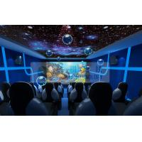 Buy cheap Entertainment 5d Mobile Cinema Motion Chairs With Snow , Bubble , Lightning Machine product