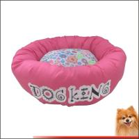 China Cooling Dog Beds Canvas Fabric With Flower Printed Dog beds Factory on sale