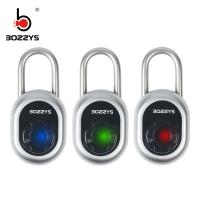 Buy cheap Lightweight Bluetooth Smart Padlock With Led Instruction Light For Warehouse Door product