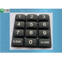 Buy cheap Printed Conductive Carbon Pill 45 Degree Silicone Rubber Keypad from wholesalers