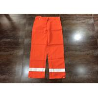 Buy cheap Orange Flame Resistant High Visibility Clothing For Men Heat Insulated product