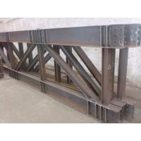 Buy cheap Truss Steel Buildings Lightweight , Prefabricated Steel Structures from wholesalers