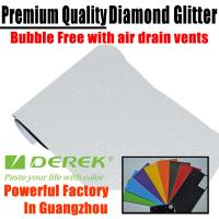 Buy cheap Brilliant Diamond Sanding Glitter Vinyl -- Sparkle Wrap White product