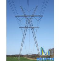 Buy cheap 400KV X-TYPE lattice steel tower product