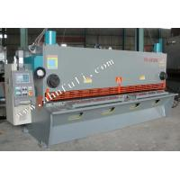 Buy cheap CNC controller 8 mm 4m Hydraulic Guillotine Shearing Machine with CE product