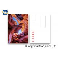 Buy cheap Landscape Lenticular Postcards Printing , 3D Printing Images PET / PP Material product