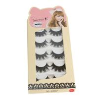 Buy cheap Beauty Long Lasting 1pair 3D Mink False Eyelashes Messy Cross Dramatic product