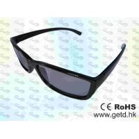 Buy cheap Black Cinema Circular polarized Reald 3D glasses product